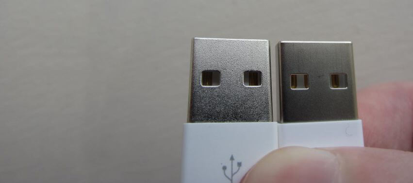 USB aansluiting copy of originele oplader