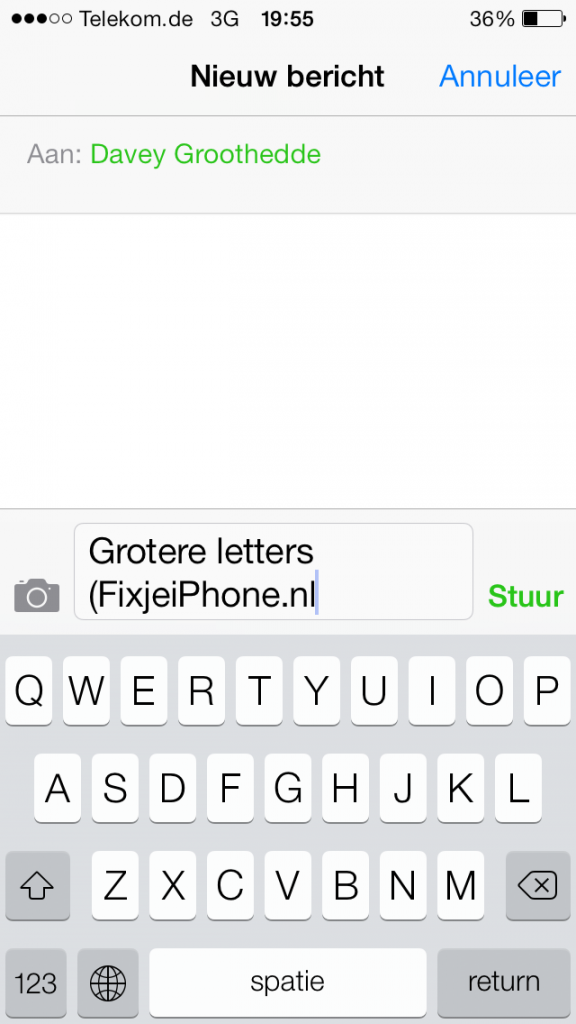 Tekst vergroten op iphone ios7 fixjeiphone tekst vergroten spiritdancerdesigns Images