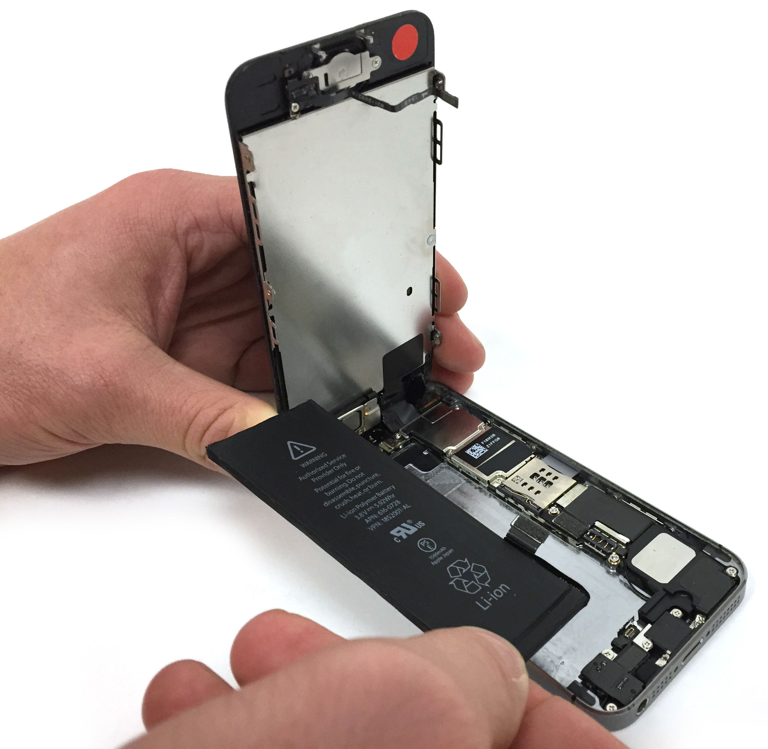 how to fix a wet iphone 5s