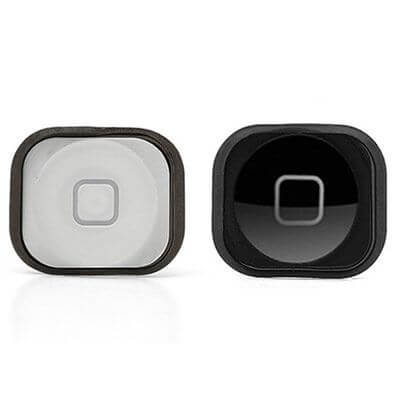 iPhone 5 home button zwart en wit