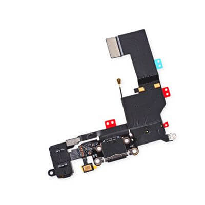 iPhone 5s dock connector in het zwart