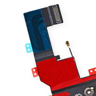 iPhone 5s dock connector van dichtbij