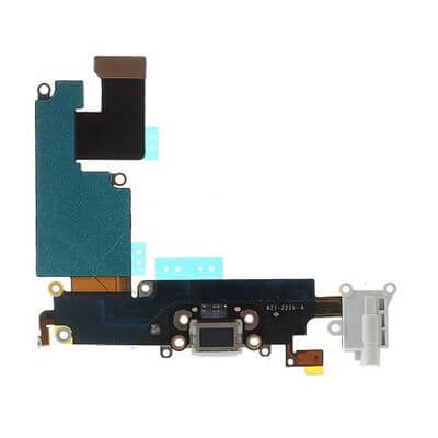 iPhone 6 plus dock connector licht grijs staand