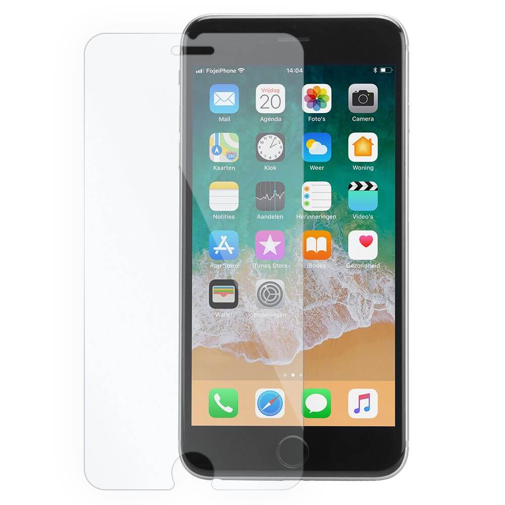 Afbeelding van 10x iPhone 6 plus / 6s plus tempered glass