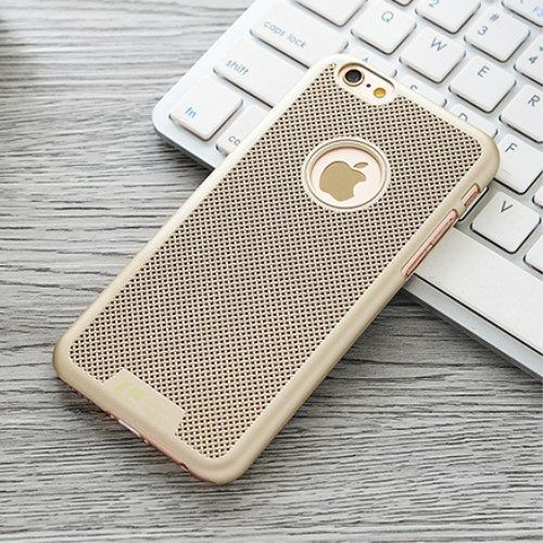 LOOPEE plastic gaas hoesje iPhone 6 / 6s in het goud
