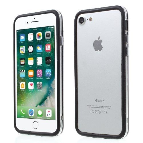 TPU bumper iPhone 7 zwart