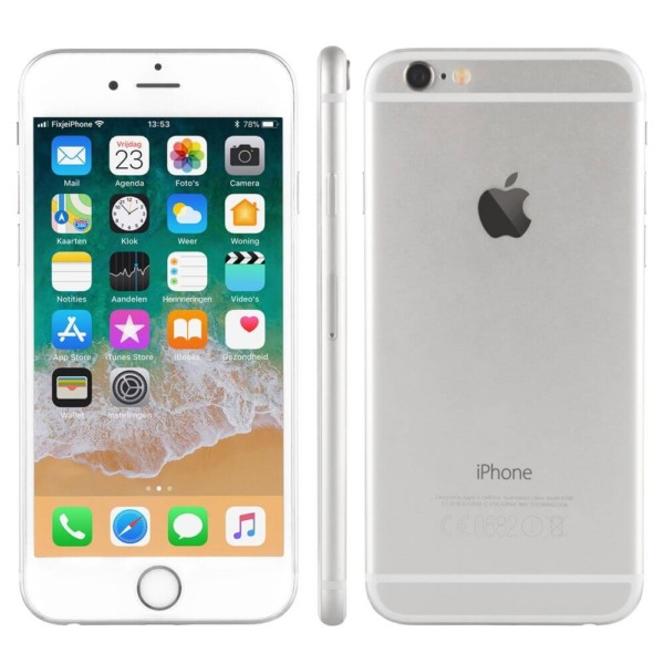 Refrubrished iphone 6 zilver