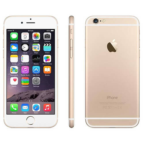 Refurbished iPhone 6 goud