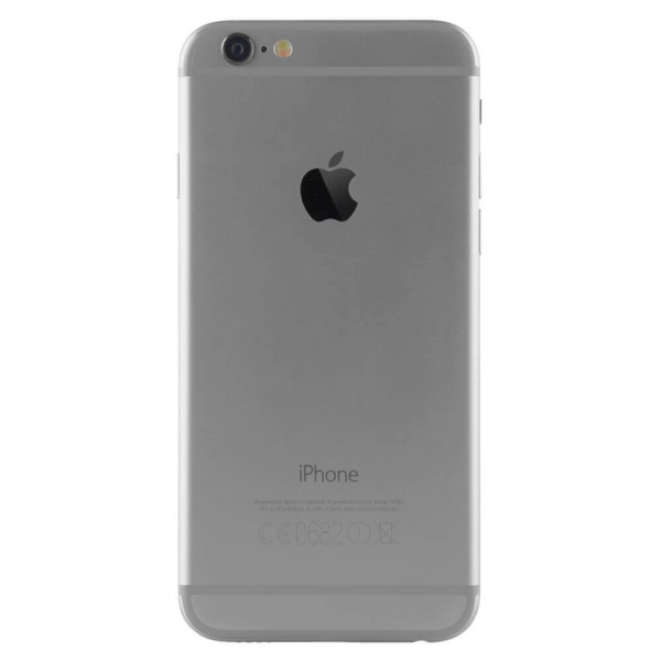 Refurbished iphone iPhone 6 space grey achterkant