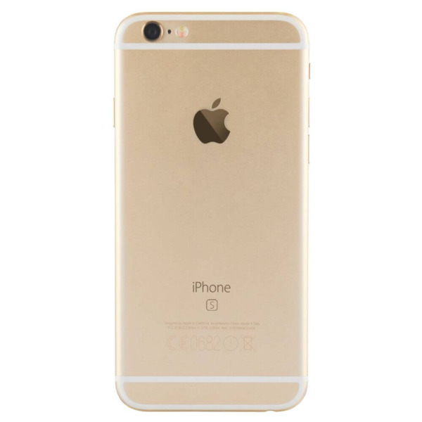 Refurbished iPhone 6s goud achterkant