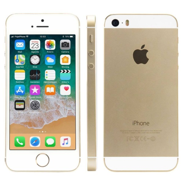 Refurbished iPhone 5s alle kanten goud