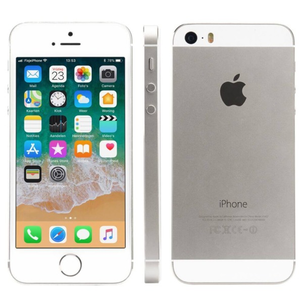 Refurbished iPhone 5s alle kanten zilver