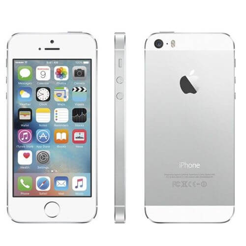 Refurbished iPhone 5s zilver 16GB