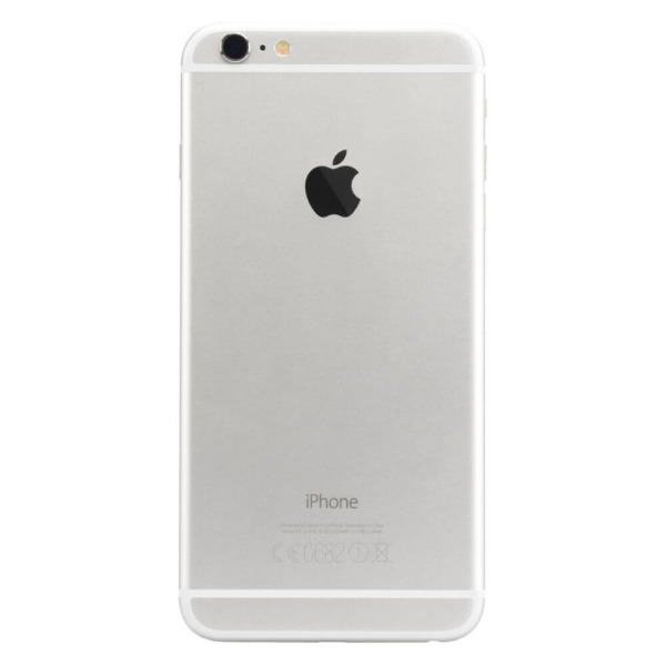 Refurbished iPhone 6 plus achterkant zilver