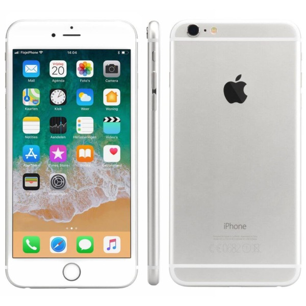 Refurbished iPhone 6 plus alle kanten zilver