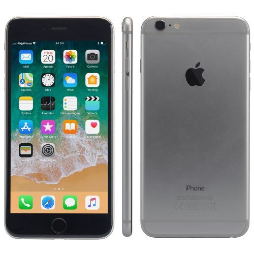 Refurbished iPhone 6 plus alle kanten zwart