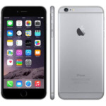 Refurbished iPhone 6 plus zwart 16 gb