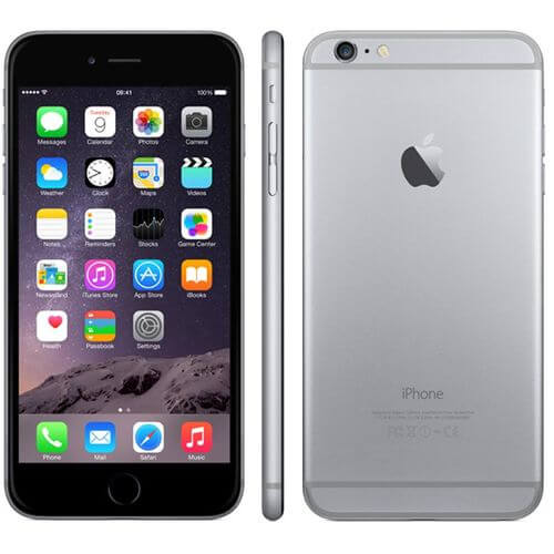 Refurbished iPhone 6 plus zwart 16GB