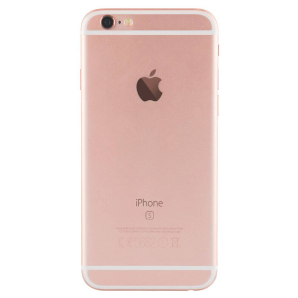 Refurbished iPhone 6s rosegoud achterkant
