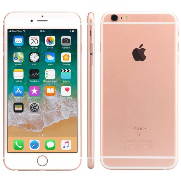 Refurbished iPhone 6s plus alle kanten rosegoud