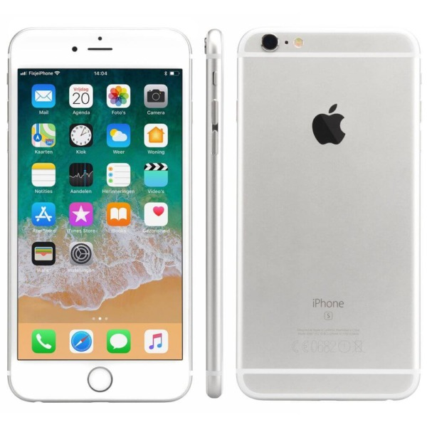 Refurbished iPhone 6s plus alle kanten zilver