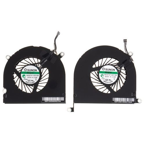 MacBook Pro A1297 ventilator set