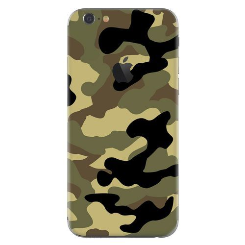 iPhone 6 plus skin camouflage groen