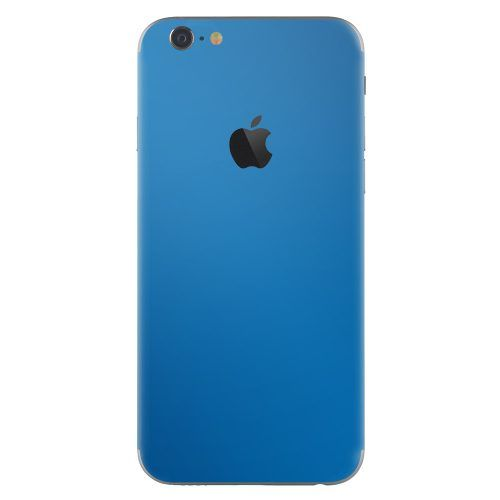 iPhone 6 plus skin electric blauw