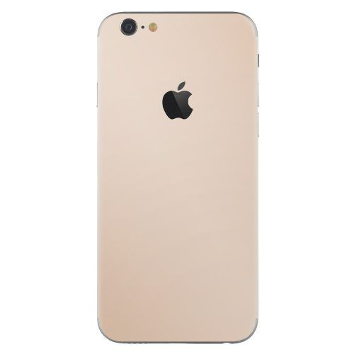 iPhone 6 plus skin goud
