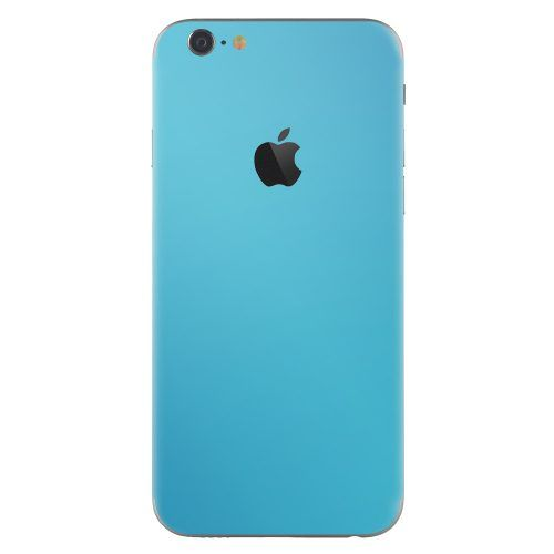 iPhone 6 plus skin kristal blauw