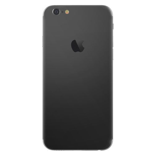 iPhone 6 plus skin mat zwart