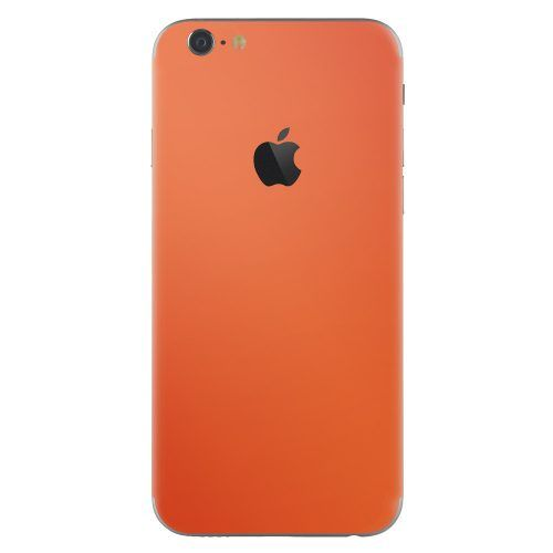 iPhone 6 plus skin oranje