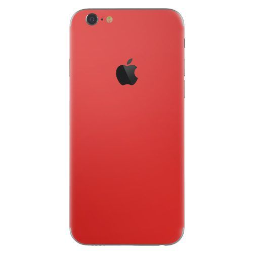 iPhone 6 plus skin rood