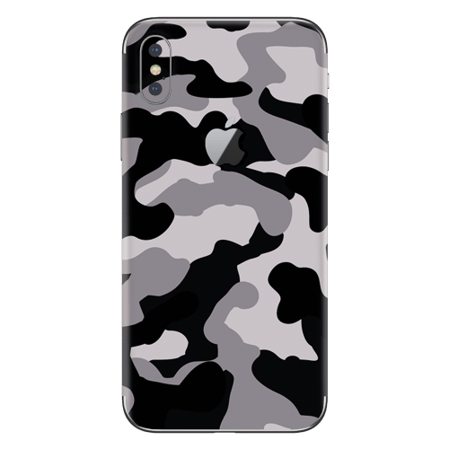 iPhone X skin camouflage