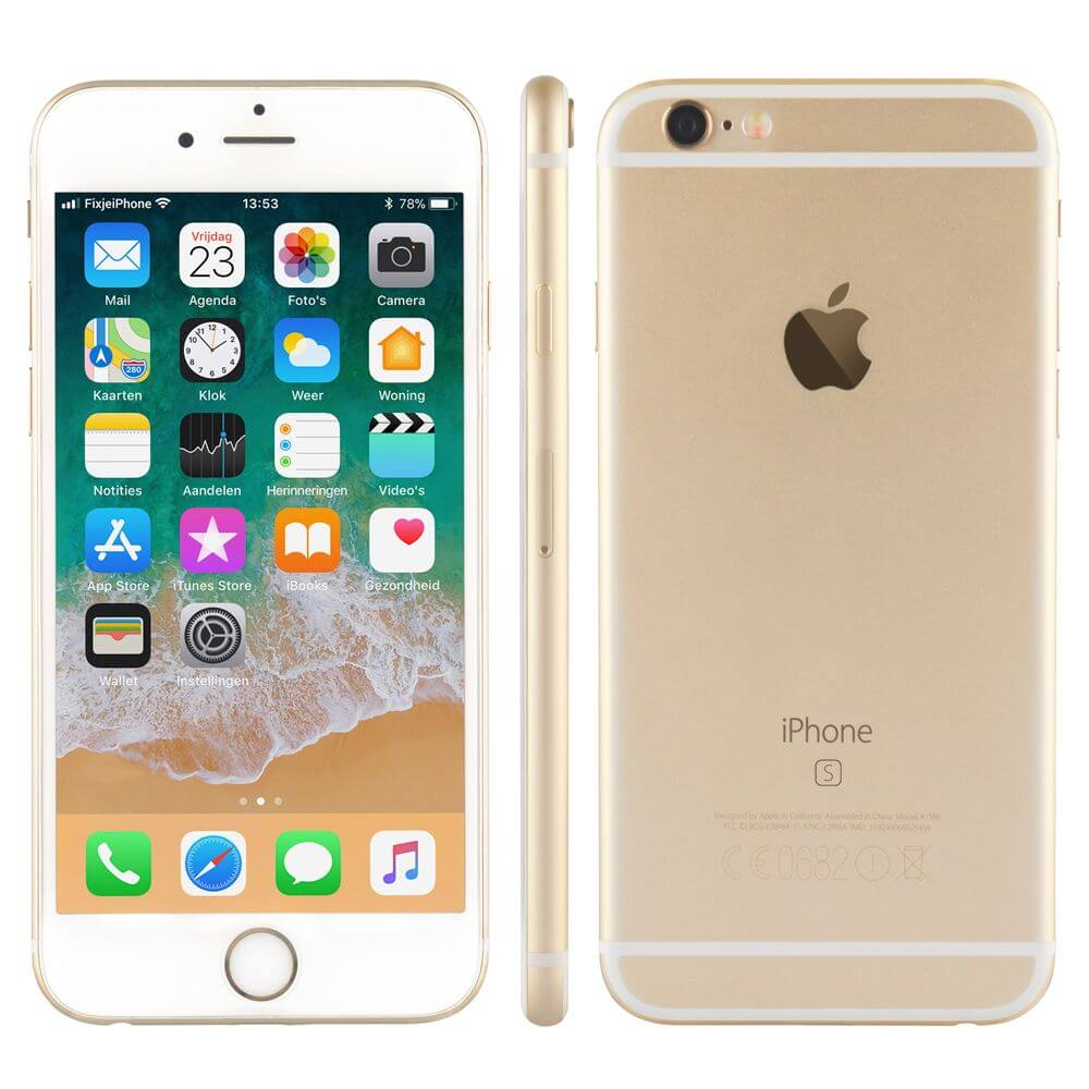 Afbeelding van Refurbished iPhone 6s goud 16 gb