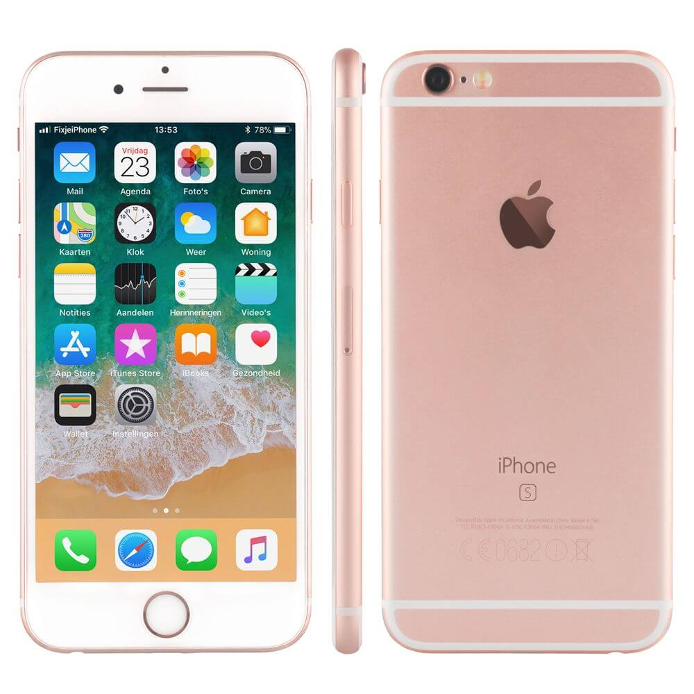 Afbeelding van Refurbished iPhone 6s rosegoud 16 gb