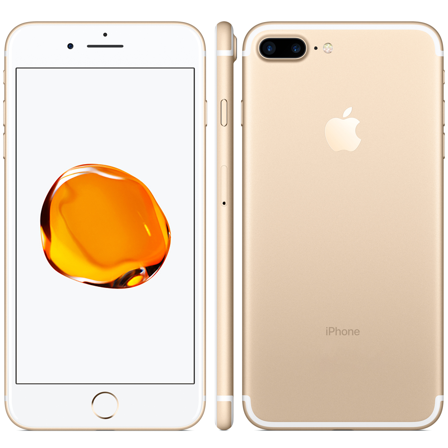 Refurbished iPhone 7 Plus goud