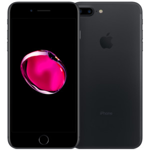 Refurbished iPhone 7 Plus zwart