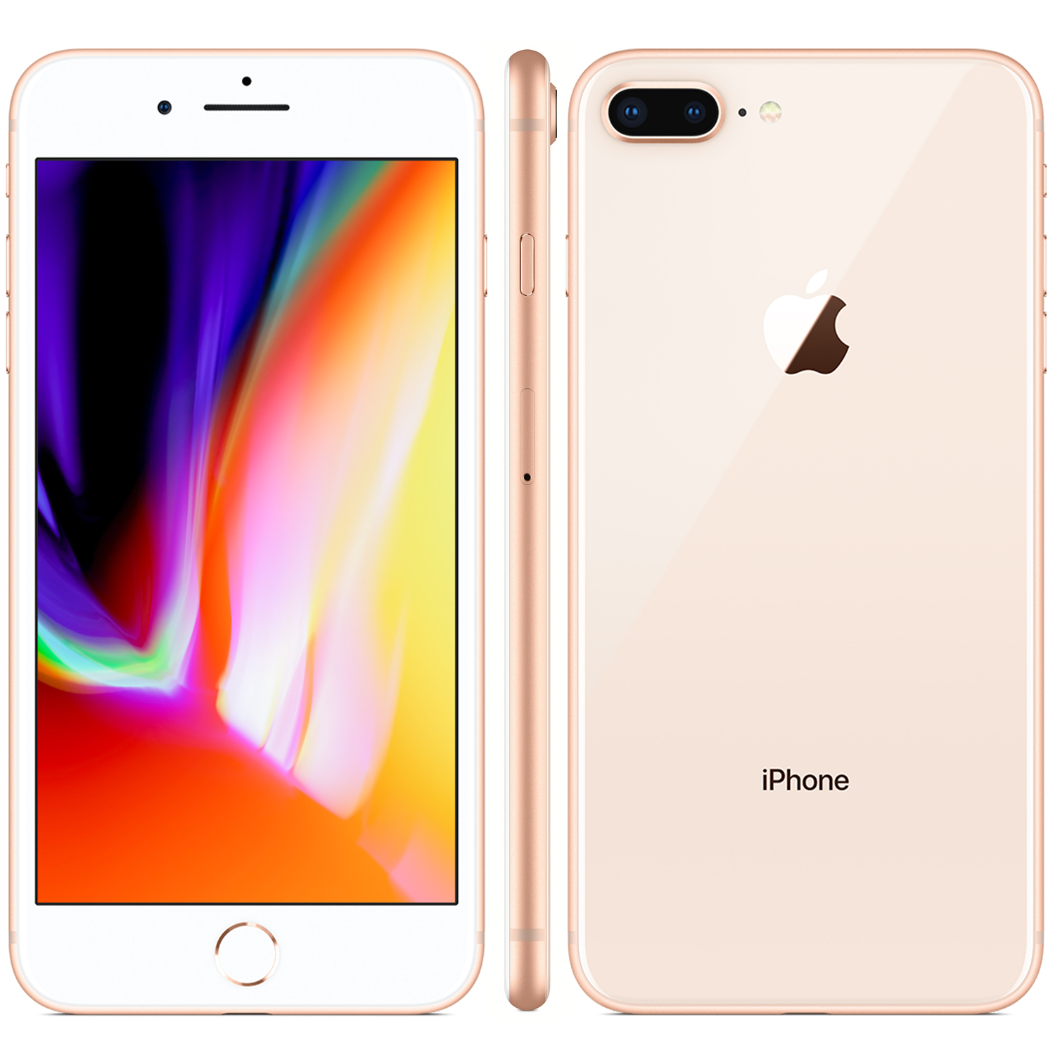 Refurbished iPhone 8 Plus goud