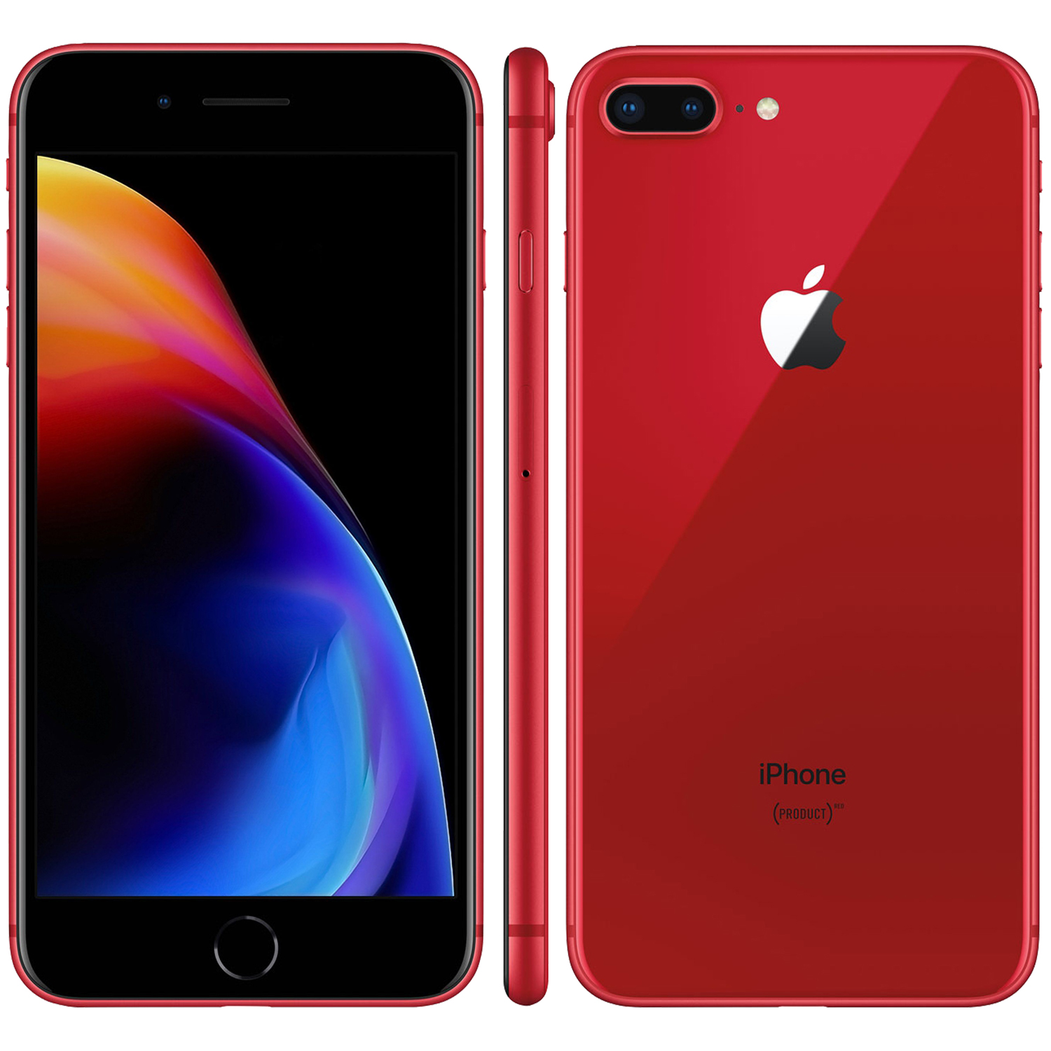 Refurbished iPhone 8 Plus rood
