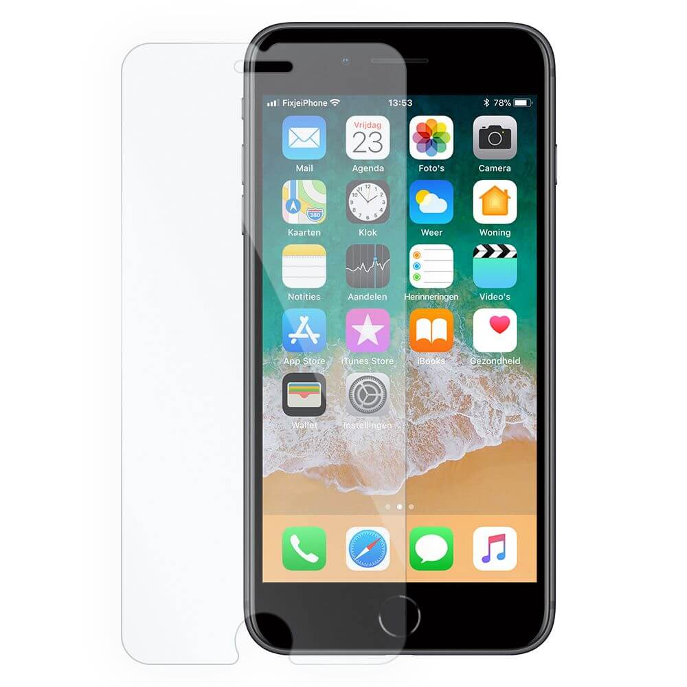Afbeelding van 10x iPhone 8 tempered glass