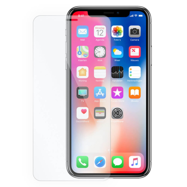 iPhone X tempered glass