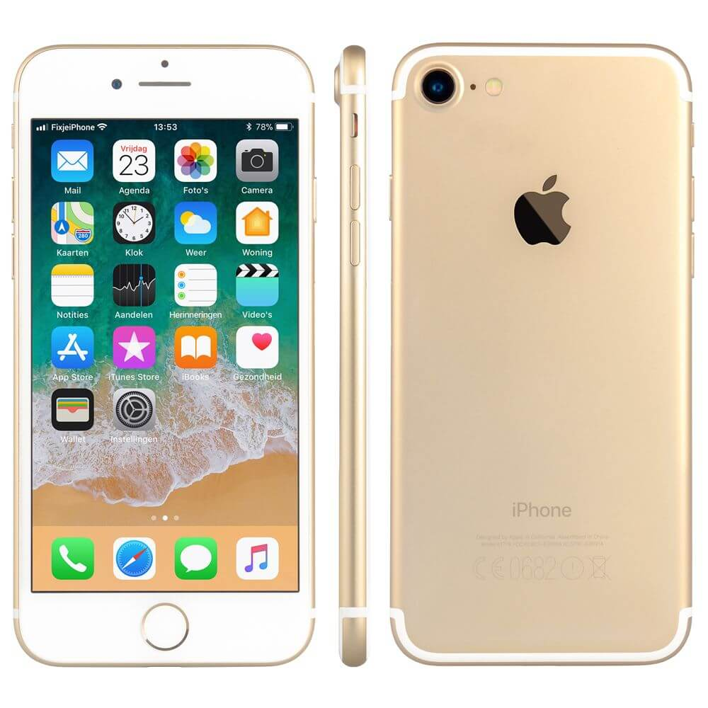 Afbeelding van Refurbished iPhone 7 goud 32 gb