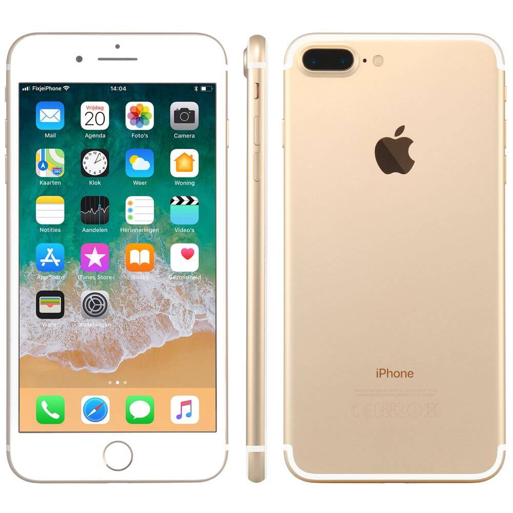 Afbeelding van Refurbished iPhone 7 plus 128GB goud