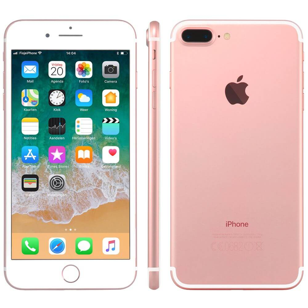 Afbeelding van Refurbished iPhone 7 plus 128GB rosegoud