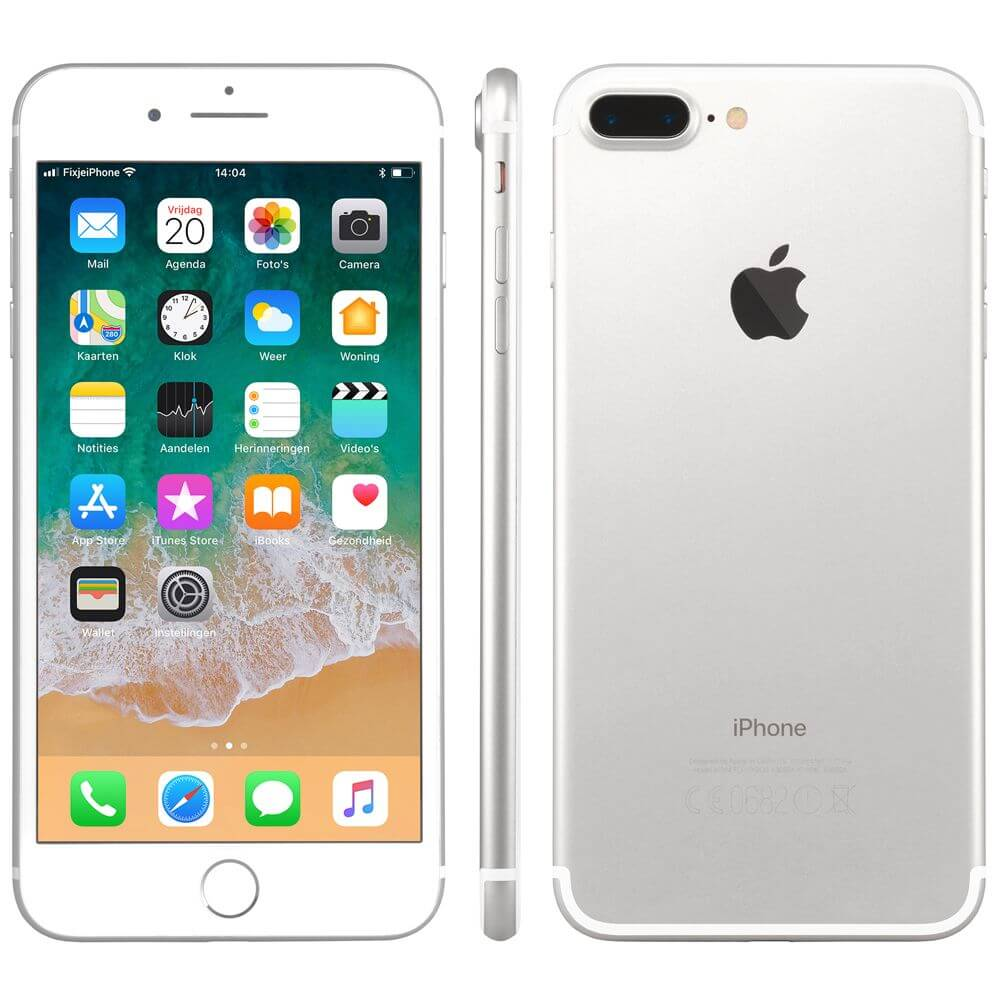 Afbeelding van Refurbished iPhone 7 plus 128GB zilver