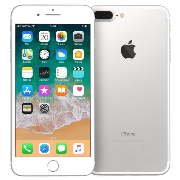 Refurbished iPhone 7 plus zilver