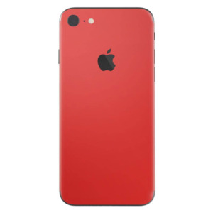 iPhone 7 skin donkerrood