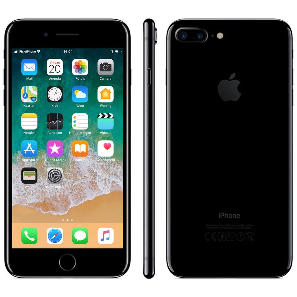 Afbeelding van Refurbished iPhone 7 plus 128GB jet black