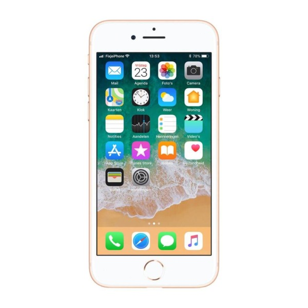 Refurbished iPhone 8 goud